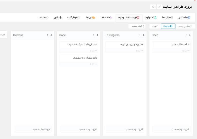 افزونه مدیر پروژه وردپرس | WP Project Manager