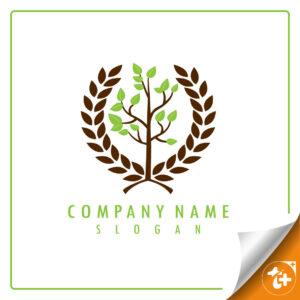 لوگو شرکت یا فروشگاه مرتبط با کشاورزی
