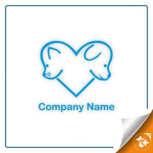 لوگو سگ - لوگو حیوانات خانگی- لوگو فروشگاه حیوانات