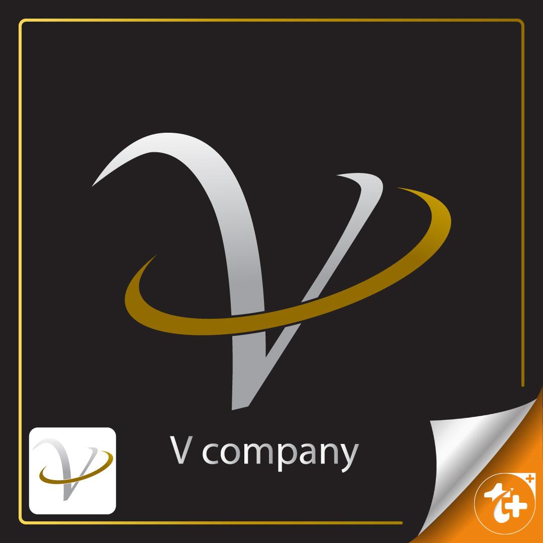 لوگو حرف وی - لوگو v