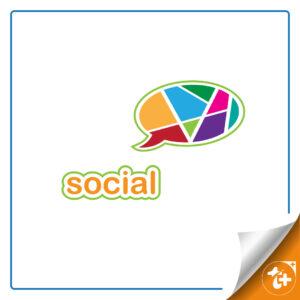 لوگو شبکه اجتماعی - لوگو سوشیال