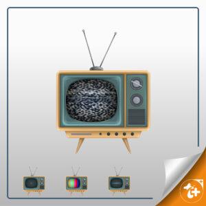 وکتور تلویزیون 4