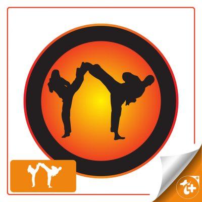 لوگو ورزش رزمی -کاراته – تکواندو
