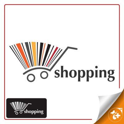 لوگو فروشگاه – لوگو سبد خرید فروشگاهی