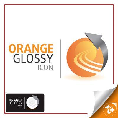 لوگو دایره نارنجی