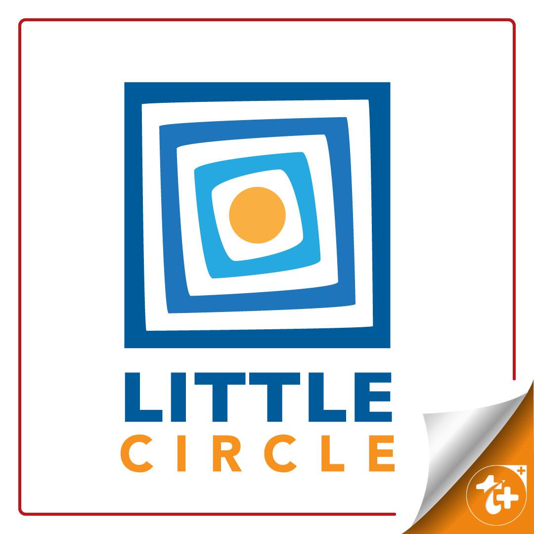 لوگو لایه باز دایره کوچک