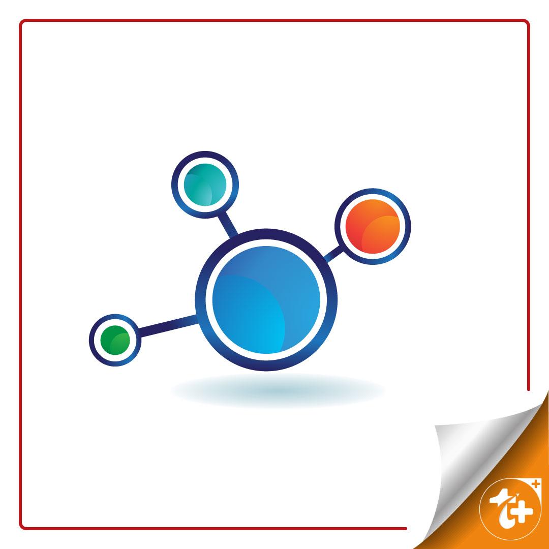 طرح لایه باز لوگو شبکه | کانکشن