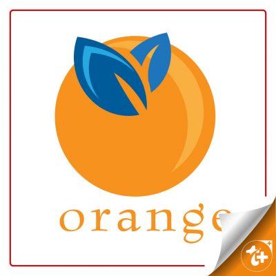 لوگو ساده پرتقال