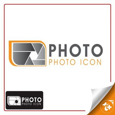 طرح لایه باز لوگو لنز دوربین مناسب عکاسان و آتلیه های عکاسی