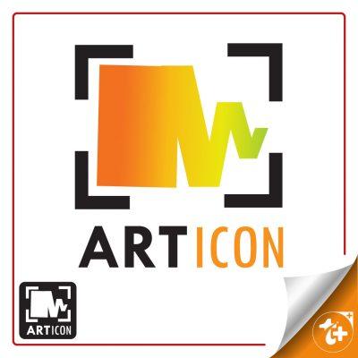 لوگو لایه باز نمایشگاه هنری