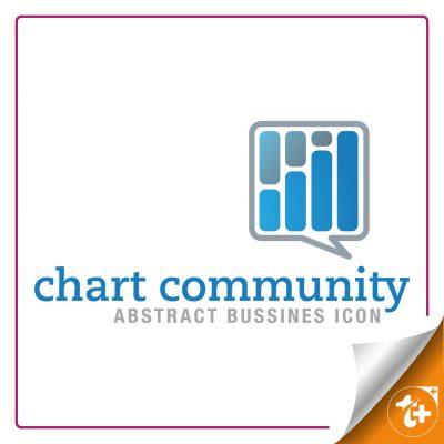 لوگو نموداری برای کسب و کار