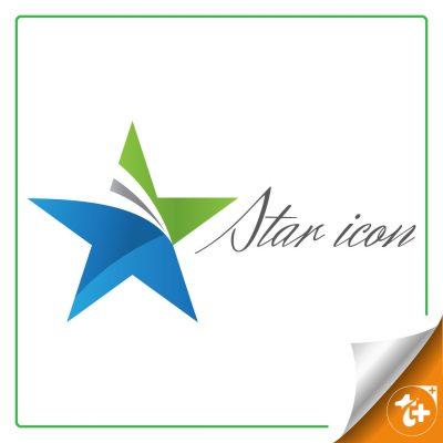 آیکون لایه باز ستاره