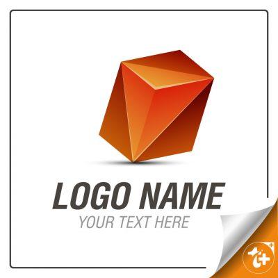 لوگو ترکیبی شش ضلعی و مثلث