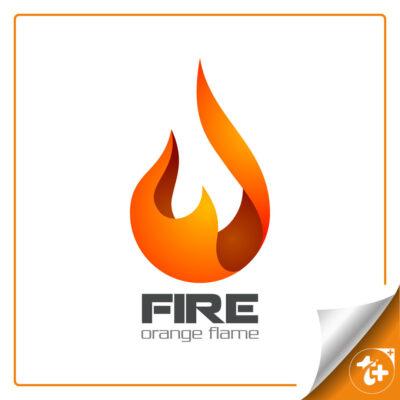 لوگو آتش